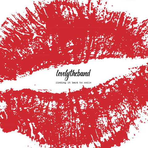 Lovelytheband - Finding It Hard To Smile (Ltd. Ed. 150g, Autographed, 2XLP) - Blind Tiger Record Club