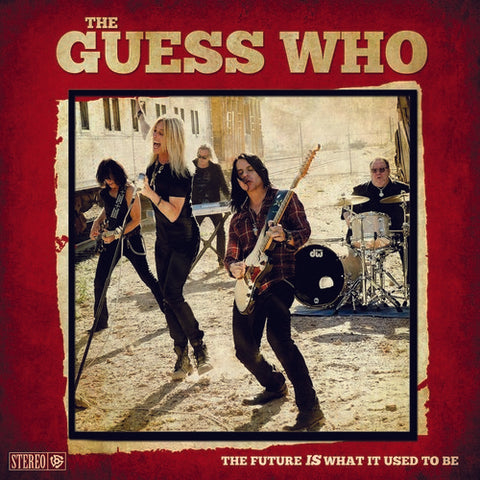 The Guess Who - The Future Is What It Used To Be (Red/black vinyl) - Blind Tiger Record Club