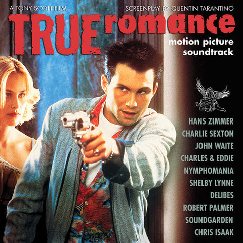 True Romance - Motion Picture Soundtrack (Ltd. Ed. Clear w/ White Splatter vinyl) - Blind Tiger Record Club