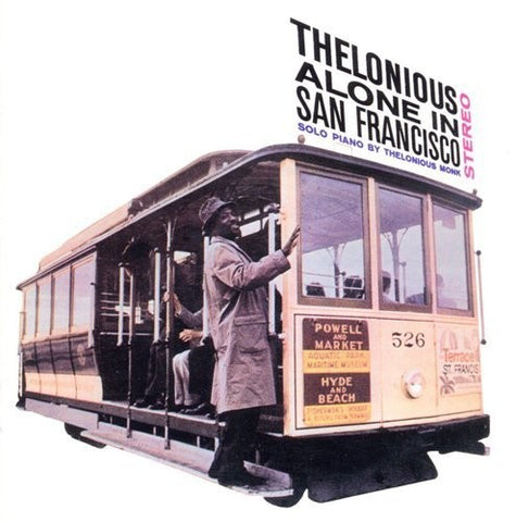 Thelonious Monk - Thelonious Alone In San Francisco - Blind Tiger Record Club