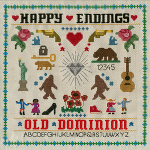 Old Dominion - Happy Endings - Blind Tiger Record Club