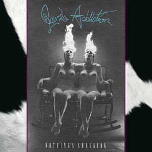 Janes Addiction - Nothing's Shocking (Ltd. Ed. Clear Vinyl) - Blind Tiger Record Club