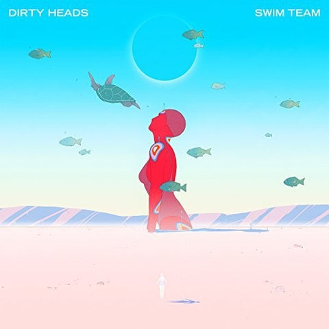 Dirty Heads - Swim Team (Red Vinyl) - MEMBER EXCLUSIVE