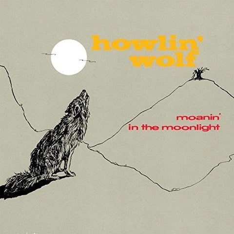 Howlin Wolf - Moanin In The Moonlight  [Import] (Ltd. Ed. 180 Gram Audiophile Red Vinyl, Remastered)
