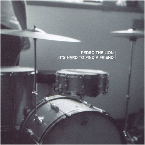 Pedro the Lion - It's Hard To Find A Friend (Ltd. Ed. Clear Vinyl) - Blind Tiger Record Club