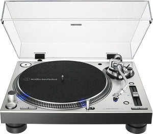Audio Technica AT-LP140XP-SV Direct-Drive Professional DJ Turntable - Blind Tiger Record Club