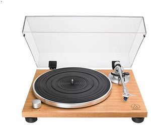 Audio Technica AT-LPW30TK Turntable Fully Manual Belt Drive Wood BaseTeak - Blind Tiger Record Club