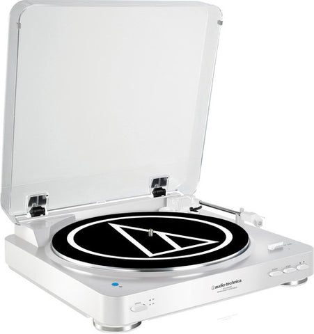 Audio Technica AT-LP60WH-BT Bluetooth Turntable White