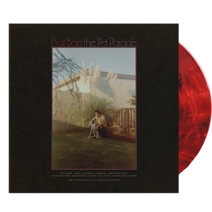 Fruit Bats - The Pet Parade (Ltd. Ed. Red & Black Swirl Vinyl) - MEMBER EXCLUSIVE - Blind Tiger Record Club