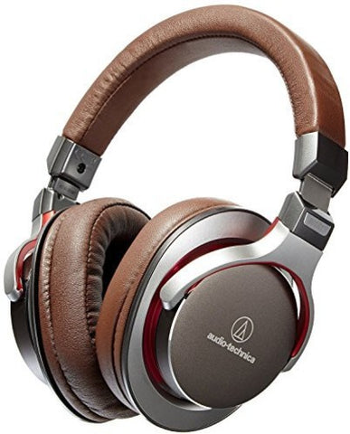 Audio Technica ATH-MSR7GM SonicPro Over-Ear High-Resolution Audio Headphones Gun Metal Gray - Blind Tiger Record Club