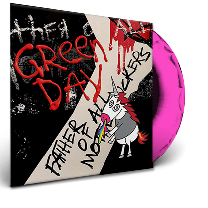 Green Day - Father Of All (Ltd. Ed. Pink Vinyl) - MEMBER EXCLUSIVE - Blind Tiger Record Club