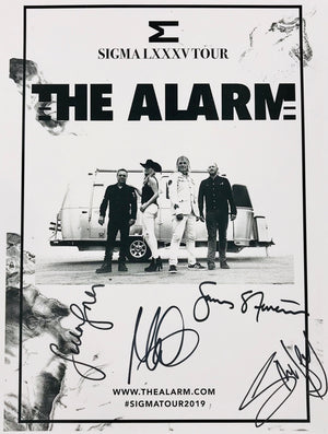 The Alarm - Sigma (Autographed Print) - Blind Tiger Record Club