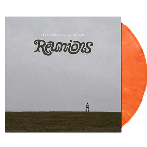 Jason Isbell & the 400 Unit - Reunions (Ltd. Ed. Creamsicle Vinyl - RARE) - MEMBER EXCLUSIVE - Blind Tiger Record Club