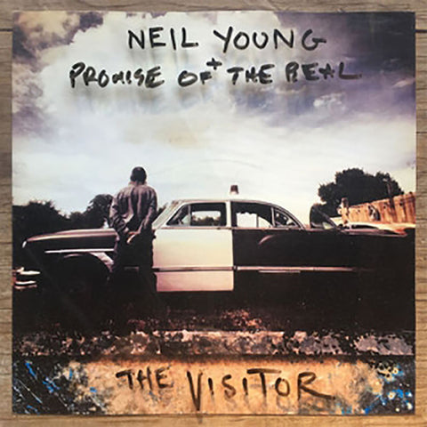 Neil Young & Promise of the Real - The Visitor (2XLP) - MEMBER EXCLUSIVE