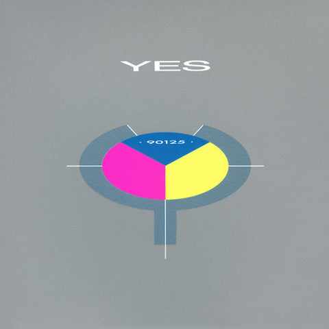 Yes - 90125 (Blue/Pink/Yellow Vinyl) - Member Exclusive