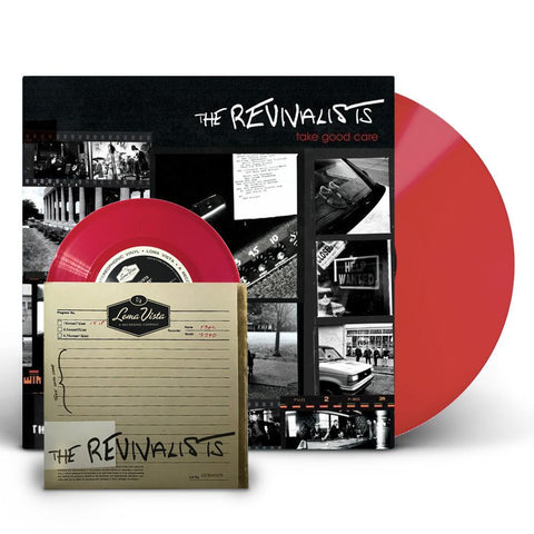 "The Revivalists - Take Good Care (Ltd. Ed Red Vinyl w/ 7"" Single) - MEMBER EXCLUSIVE"