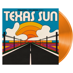 Khruangbin & Leon Bridges - Texas Sun EP (Ltd. Ed. Orange Vinyl) - MEMBER EXCLUSIVE - Blind Tiger Record Club