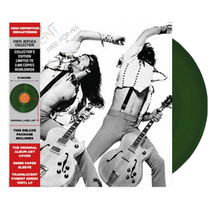 Ted Nugent - Free-For-All (Ltd. Ed. 150G Translucent Forest Green Vinyl) - MEMBER EXCLUSIVE - Blind Tiger Record Club