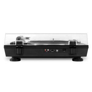 Victrola VPRO-2000-SLV Professional Series Bluetooth Wireless USBTurntable 2 Speed Belt Drive (Silver) - Blind Tiger Record Club