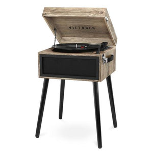 Victrola Bluetooth Record Player Stand with 3-Speed Turntable - Blind Tiger Record Club