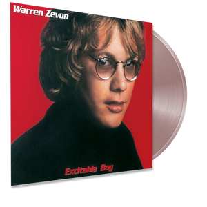 Warren Zevon - Excitable Boy (Ltd. Ed. 140G Glow in the Dark Red Vinyl) - MEMBER EXCLUSIVE - Blind Tiger Record Club