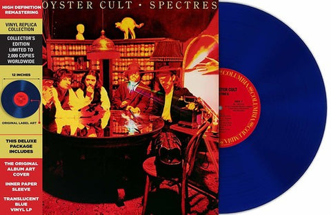 Blue Oyster Cult - Spectres (Ltd. Ed. Clear Blue Vinyl)