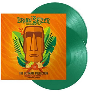 The Brian Setzer Orchestra - The Ultimate Collection Recorded Live: Volume 1 (Ltd. Ed. 180G Green 2XLP) - Blind Tiger Record Club