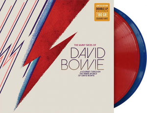 David Bowie - The Many Faces of Davie Bowie (Ltd. Ed. 180G Red/Blue 2XLP)