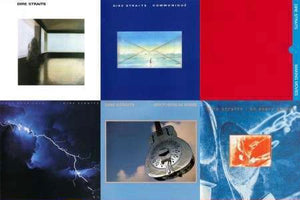 The Dire Straits Studio Album Collectors Series - Blind Tiger Record Club