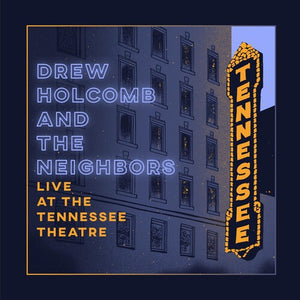 Drew Holcomb - Live at the Tennessee Theatre (2XLP) - Blind Tiger Record Club