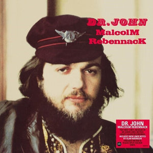 Dr. John - Malcolm Rebenneck (Ltd. Ed. 180G Red/Black Vinyl) - Blind Tiger Record Club