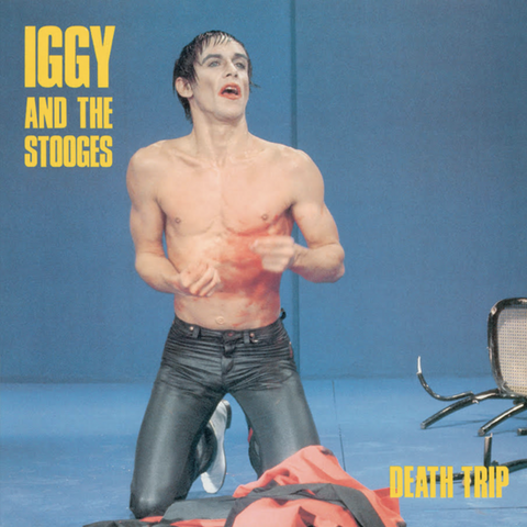 Iggy & the Stooges - Death Trip (Red Vinyl) - Blind Tiger Record Club