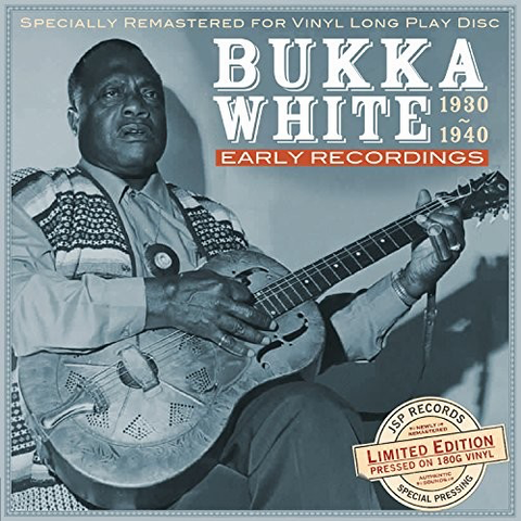 Bukka White - Early Recordings 1930-1940 - Blind Tiger Record Club