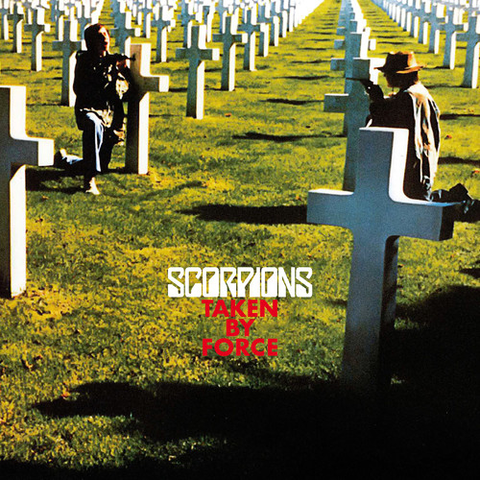 Scorpions - Taken By Force - Blind Tiger Record Club