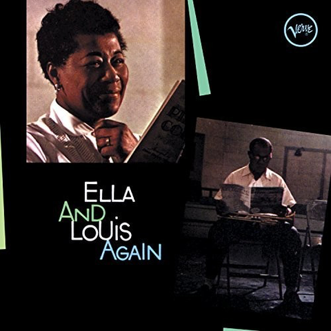 Ella Fitzgerald / Louis Armstrong - Ella & Louis Again [Import] (Ltd. Ed. Green-colored vinyl, 180g)
