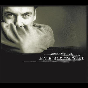 John Hiatt - Beneath This Gruff Exterior (Ltd. Ed. Clear w/Gray Vinyl) - Blind Tiger Record Club