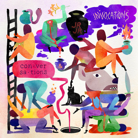 Jr Jr - Invocations/Conversations (Ltd. Ed. Color 2XLP) - MEMBER EXCLUSIVE