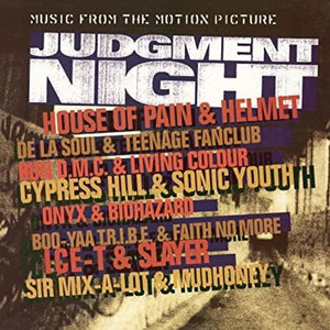 Judgment Night O.S.T. - Various Artists (Ltd. Ed. 180G Orange & Yellow Vinyl) - Blind Tiger Record Club