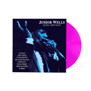 Junior Wells - Blues Brothers (Ltd. Ed. Purple Vinyl) - Blind Tiger Record Club