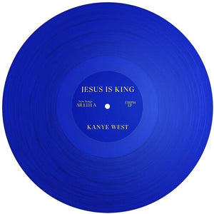 Kanye West - Jesus Is King (Ltd. Ed. Translucent Blue Vinyl) - Blind Tiger Record Club