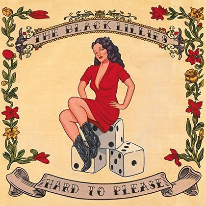 The Black Lillies - Hard to Please (Ltd. Ed. red vinyl, 2xLP) - Blind Tiger Record Club