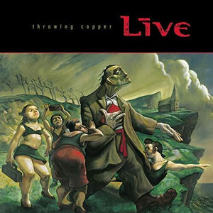 Live - Throwing Copper (Ltd. Ed. 2XLP) - MEMBER EXCLUSIVE - Blind Tiger Record Club