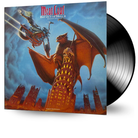 Meat Loaf - Bat Out Of Hell II: Back Into Hell (Ltd. Ed. 25th Ann. Double Vinyl) - MEMBER EXCLUSIVE