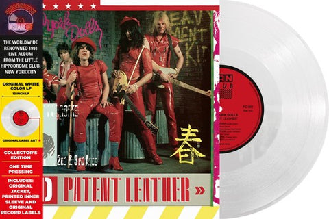 New York Dolls - Red Patent Leather (Ltd. Ed. White Vinyl)