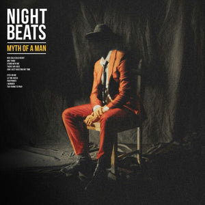 Night Beats - Myth of a Man (Red Vinyl) - Blind Tiger Record Club