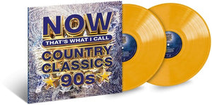 Various Artists- NOW That's What I Call Country Classics '90s (Ltd. Ed. Yellow 2XLP)