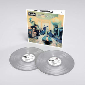Oasis - Definitely, Maybe (Ltd. Ed. Silver 2XLP) - Blind Tiger Record Club