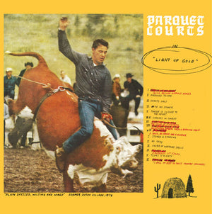 Parquet Courts - Light Up Gold - Blind Tiger Record Club