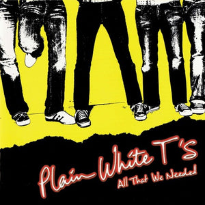 Plain White T's - All That We Needed (Ltd. Ed. Opaque Red Vinyl)