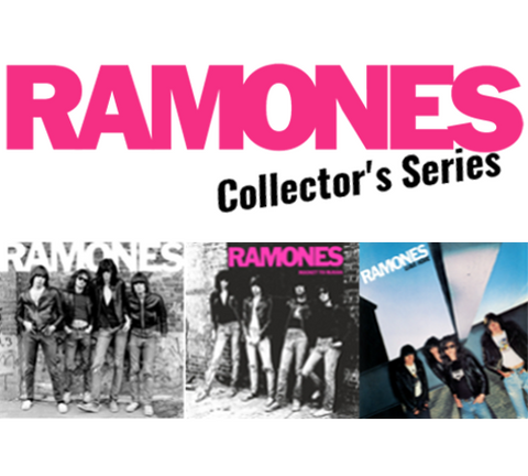 The Ramones Collector's Series Bundle - Blind Tiger Record Club